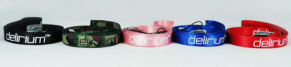 delirium Lanyard ( Pink )