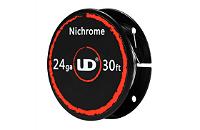 UD Nichrome 24 Gauge Wire ( 30ft / 9.15m ) image 1