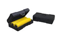 Chubby Gorilla Dual 18650 Battery Case (Black) image 1