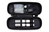 Medium Size Zipper Carry Case ( Silver ) image 2