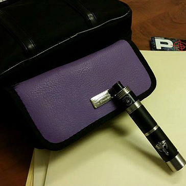 Pandoras Enigma Handmade Leather Carry Case ( Allium )