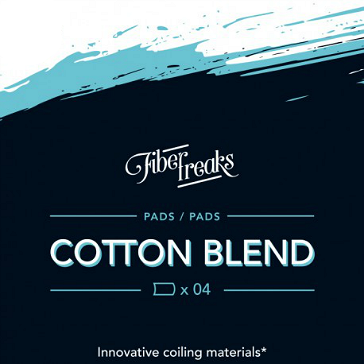 Fiber Freaks Cotton Blend Wick Pads
