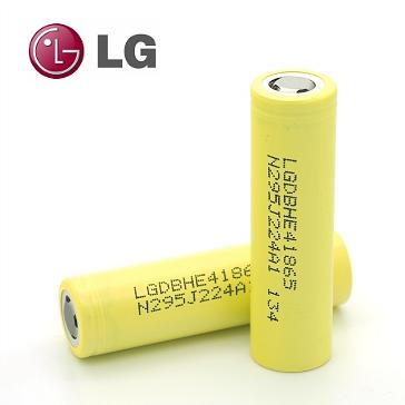 LG HE4 35A 2500mAh 18650 Battery
