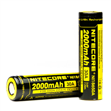 Nitecore 30A 2000mAh IMR 18650 Battery
