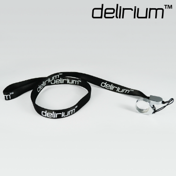 delirium Lanyard ( Black )