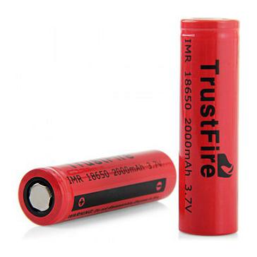 Trustfire 2000mAh IMR 18650 Battery