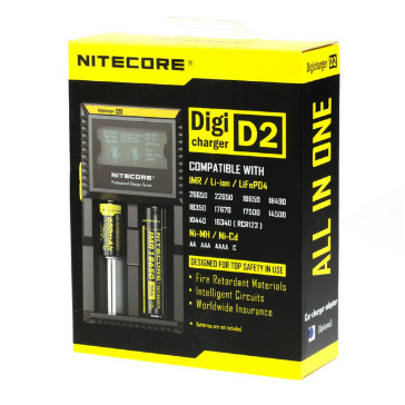 Nitecore D2 External Battery Charger