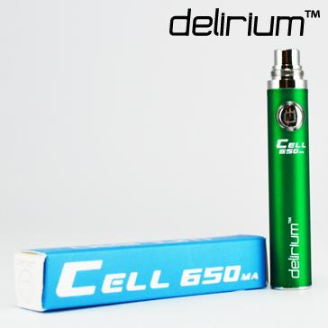 delirium Cell 650mAh Battery ( Green )
