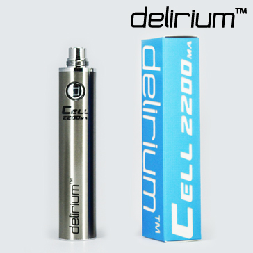 delirium Cell 2200mAh Battery ( Stainless )