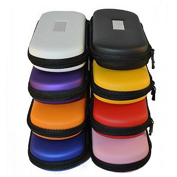 Medium Size Zipper Carry Case ( Silver )